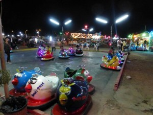 Angry Bird Bumper Cars