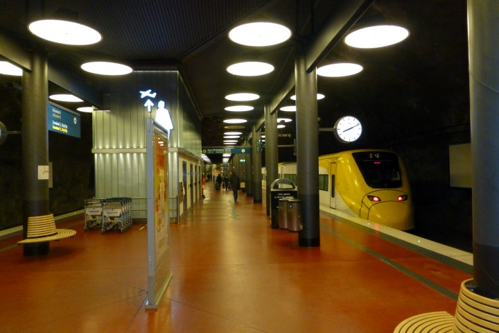 Express Train Station at ARN