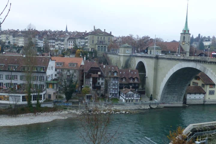 Old Town Bern - Under a Bridge