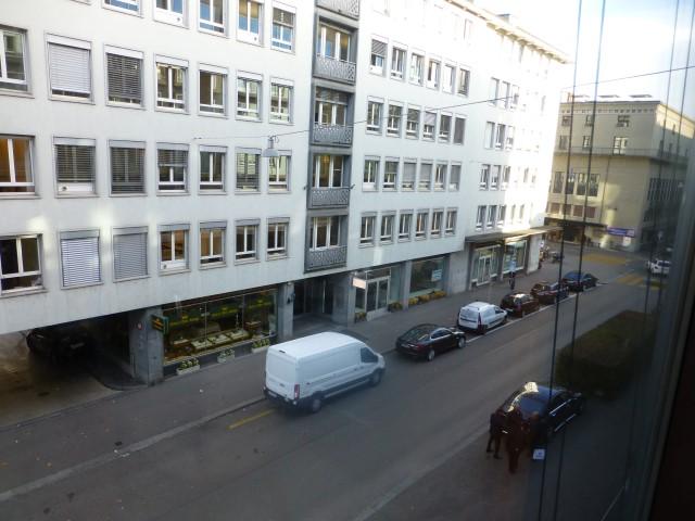 Park Hyatt Zurich - Standard Room - View from our 3rd floor window