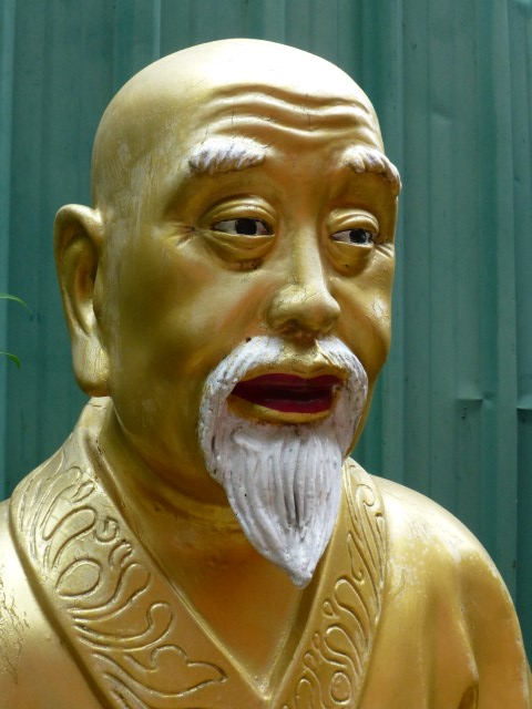 This Buddha looks a bit like Colonel Sanders.  I do love fried chicken.