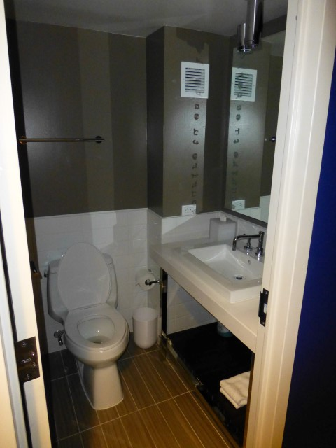 Powder Room Off Main Entrance