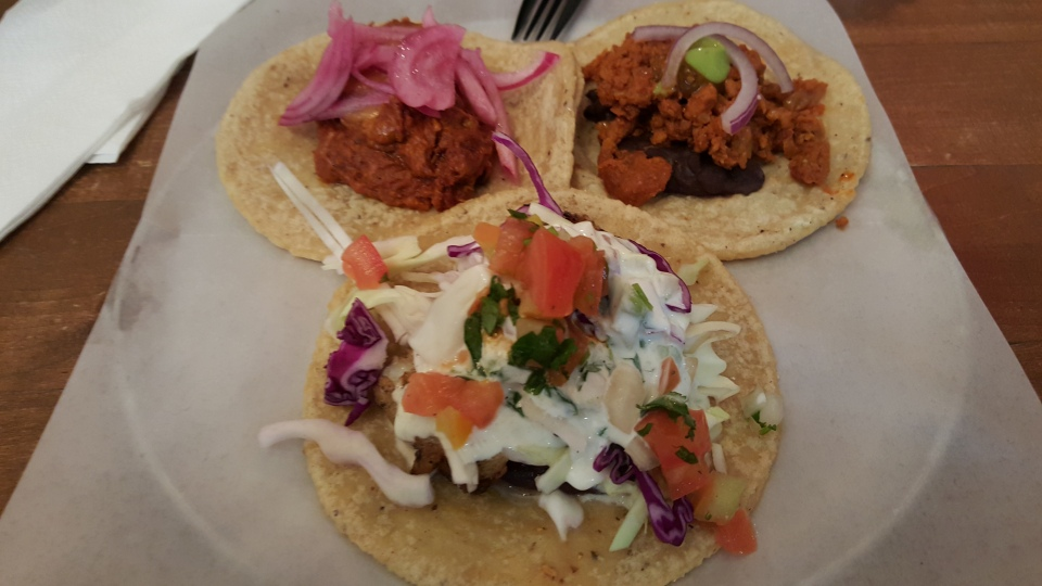 Taco Trio from Guisados