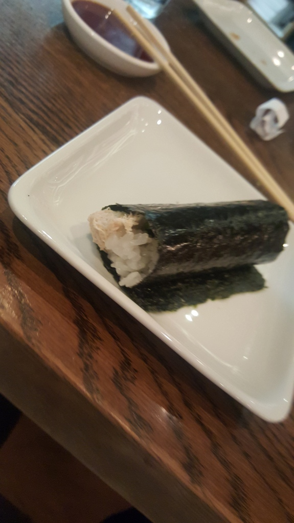 Blue Crab Hand Roll