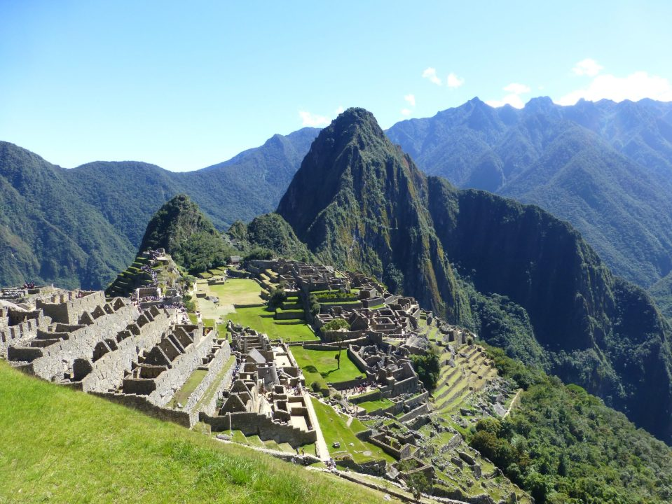 A beautiful day at Machu Picchu