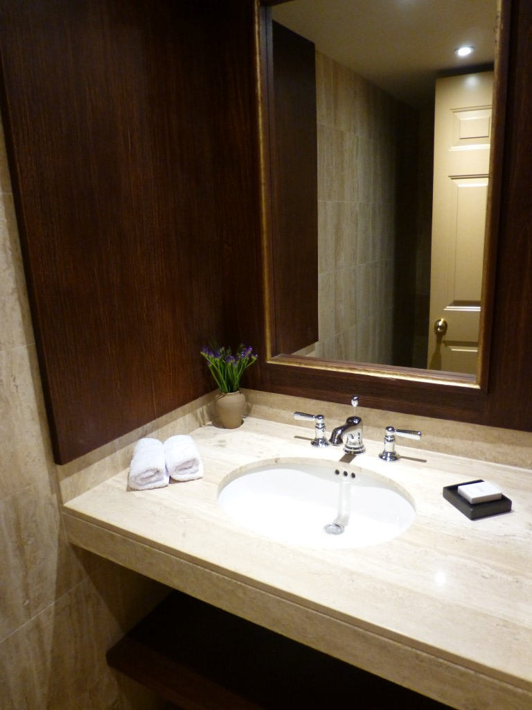 The Half Bath in our Suite